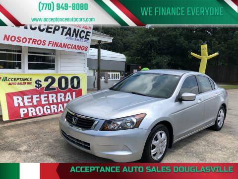 2010 Honda Accord for sale at Acceptance Auto Sales Douglasville in Douglasville GA