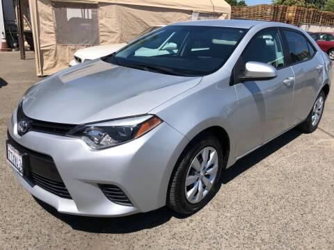 2016 Toyota Corolla for sale at El Compadre Auto Plaza in Modesto CA