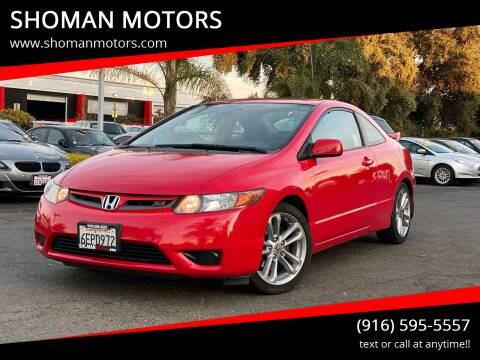 2008 Honda Civic for sale at SHOMAN AUTO GROUP in Davis CA