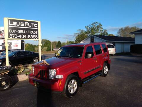 2010 Jeep Liberty for sale at LEWIS AUTO in Mountain Home AR