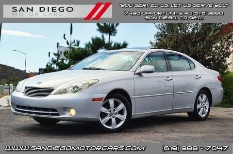 2005 Lexus ES 330 for sale at San Diego Motor Cars LLC in San Diego CA