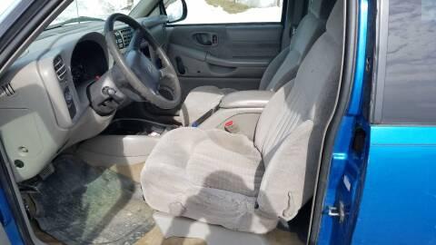 2000 Chevrolet S-10 for sale at Great Alaska Car Co. in Soldotna AK