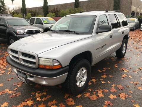 2001 Dodge Durango for sale at C. H. Auto Sales in Citrus Heights CA