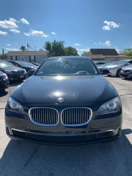 2011 BMW 7 Series for sale at VC Auto Sales in Miami FL