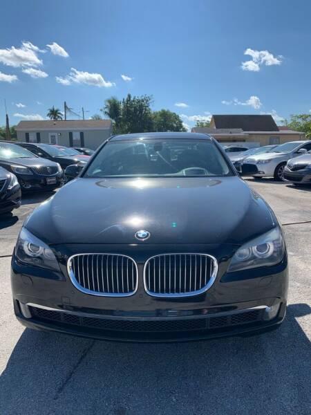 2011 BMW 7 Series for sale at VC Auto Sales in Miami FL