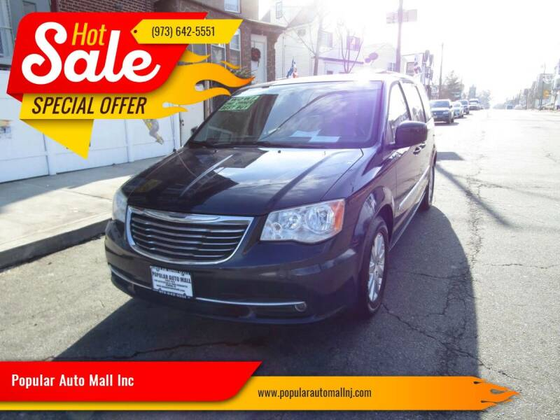 2013 Chrysler Town and Country for sale at Popular Auto Mall Inc in Newark NJ