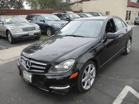 2014 Mercedes-Benz C-Class for sale at F & A Car Sales Inc in Ontario CA