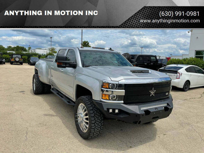 2017 Chevrolet Silverado 3500HD for sale at ANYTHING IN MOTION INC in Bolingbrook IL