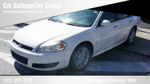 2009 Chevrolet Impala for sale at GM Automotive Group in Philadelphia PA