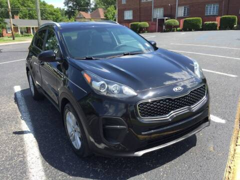 2017 Kia Sportage for sale at DEALS ON WHEELS in Moulton AL