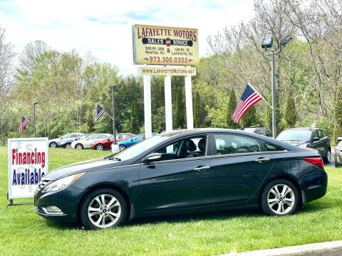 2013 Hyundai Sonata for sale at Lafayette Motors 2 in Andover NJ