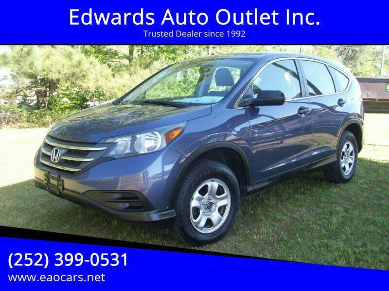 2014 Honda CR-V for sale at Edwards Auto Outlet Inc. in Wilson NC