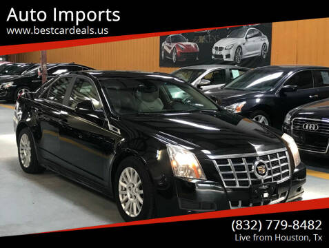 2013 Cadillac CTS for sale at Auto Imports in Houston TX