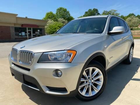 2014 BMW X3 for sale at Gwinnett Luxury Motors in Buford GA