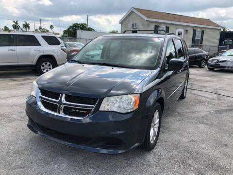 2014 Dodge Grand Caravan for sale at VC Auto Sales in Miami FL