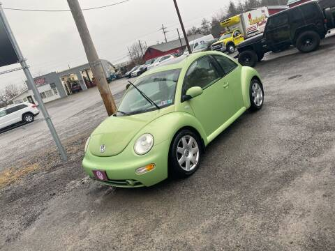 2003 Volkswagen New Beetle for sale at Superior Auto Sales in Duncansville PA