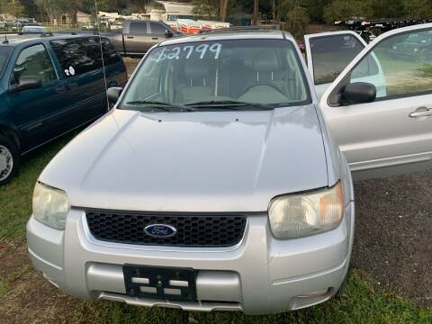2003 Ford Escape for sale at Nash's Auto Sales Used Car Dealer in Milton FL