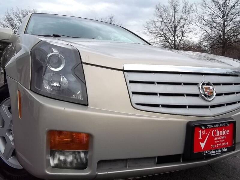 2007 Cadillac CTS for sale at 1st Choice Auto Sales in Fairfax VA