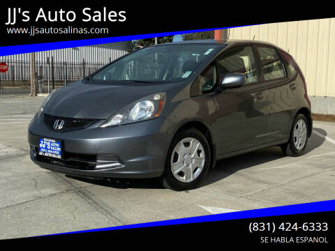 2013 Honda Fit for sale at JJ's Auto Sales in Salinas CA
