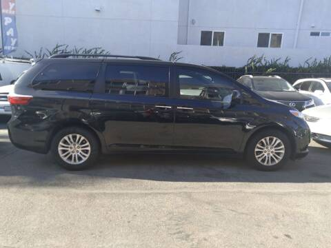 2015 Toyota Sienna for sale at Western Motors Inc in Los Angeles CA