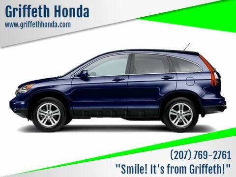 2010 Honda CR-V for sale at Griffeth Honda - Pre Owned in Presque Isle ME