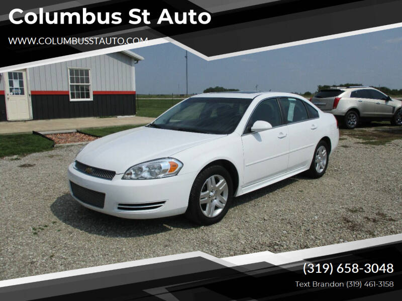 2014 Chevrolet Impala Limited for sale at Columbus St Auto in Crawfordsville IA