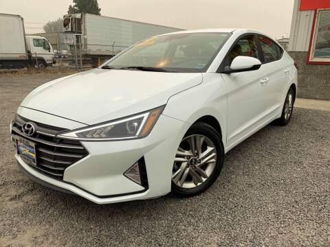 2019 Hyundai Elantra for sale at Yaktown Motors in Union Gap WA