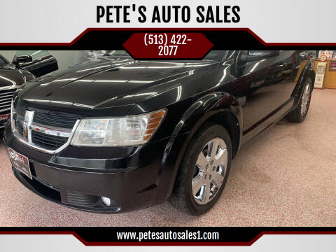 2010 Dodge Journey for sale at PETE'S AUTO SALES - Middletown in Middletown OH