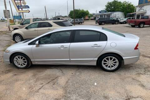 2010 Honda Civic for sale at WF AUTOMALL in Wichita Falls TX