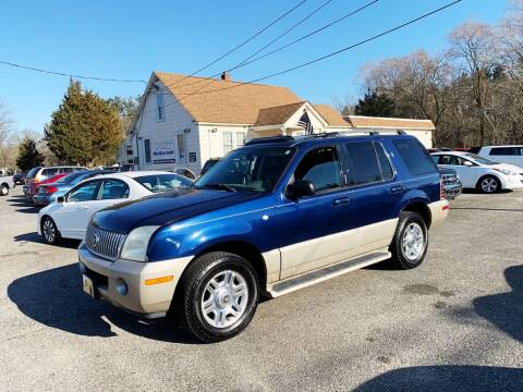 2004 Mercury Mountaineer for sale at New Wave Auto of Vineland in Vineland NJ