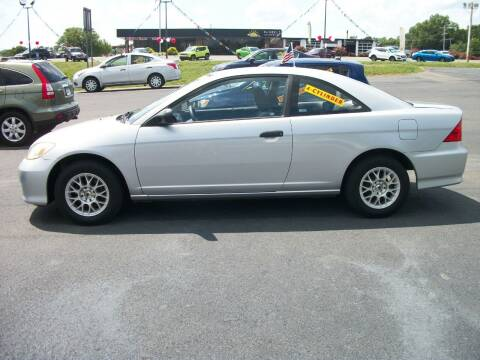 2005 Honda Civic for sale at Lentz's Auto Sales in Albemarle NC