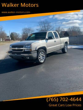 2005 Chevrolet Silverado 1500 for sale at Walker Motors in Muncie IN