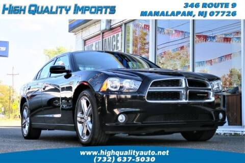 2013 Dodge Charger for sale at High Quality Imports in Manalapan NJ