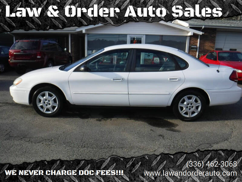 2005 Ford Taurus for sale at Law & Order Auto Sales in Pilot Mountain NC