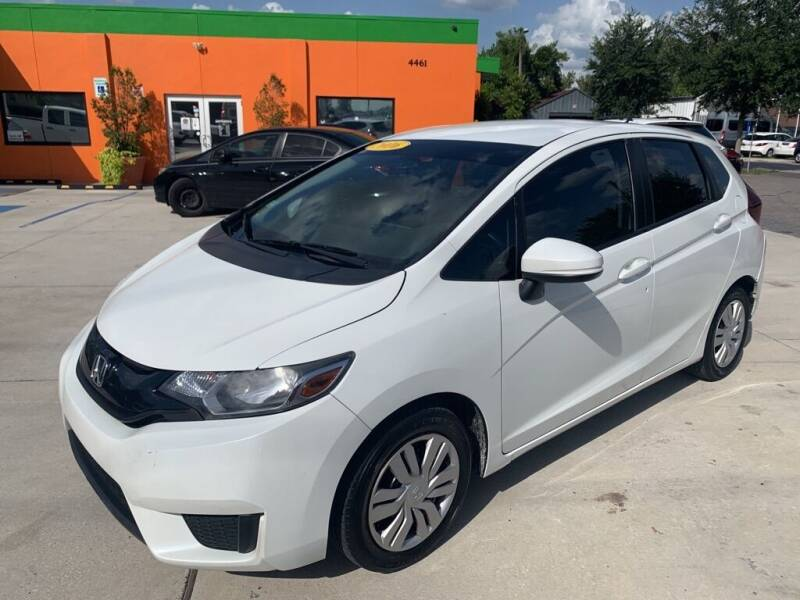 2016 Honda Fit for sale at Galaxy Auto Service, Inc. in Orlando FL