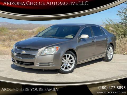 2010 Chevrolet Malibu for sale at Arizona Choice Automotive LLC in Mesa AZ