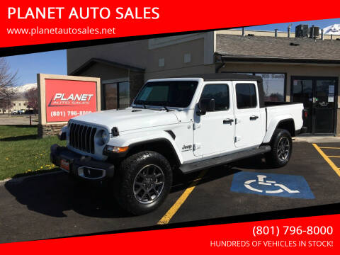 2020 Jeep Gladiator for sale at PLANET AUTO SALES in Lindon UT