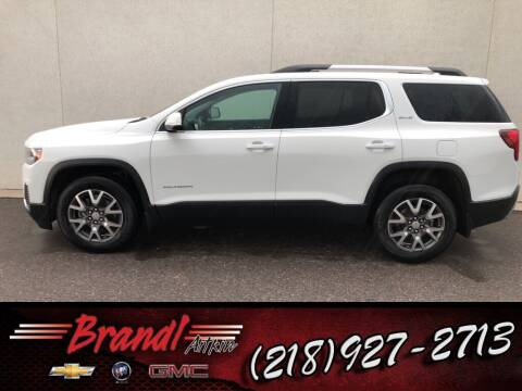 2020 GMC Acadia for sale at Brandl GM in Aitkin MN