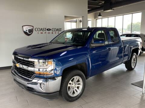 2016 Chevrolet Silverado 1500 for sale at Coast to Coast Imports in Fishers IN