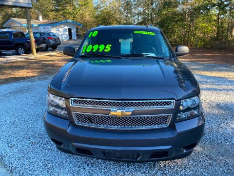 2010 Chevrolet Suburban for sale at TOP OF THE LINE AUTO SALES in Fayetteville NC