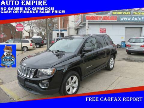 2015 Jeep Compass for sale at Auto Empire in Brooklyn NY