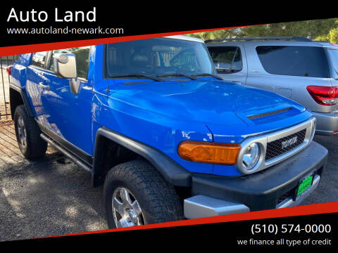 2007 Toyota FJ Cruiser for sale at Auto Land in Newark CA