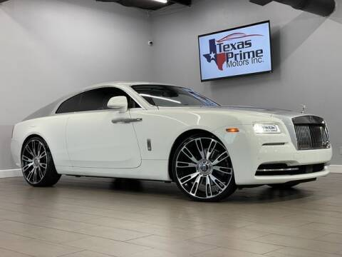 2014 Rolls-Royce Wraith for sale at Texas Prime Motors in Houston TX