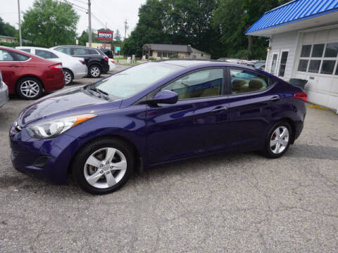 2013 Hyundai Elantra for sale at Colonial Motors in Mine Hill NJ