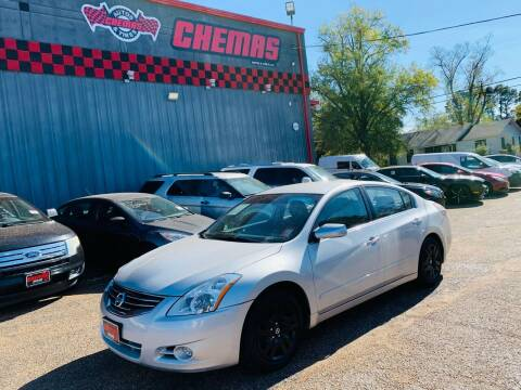 2012 Nissan Altima for sale at Chema's Autos & Tires in Tyler TX