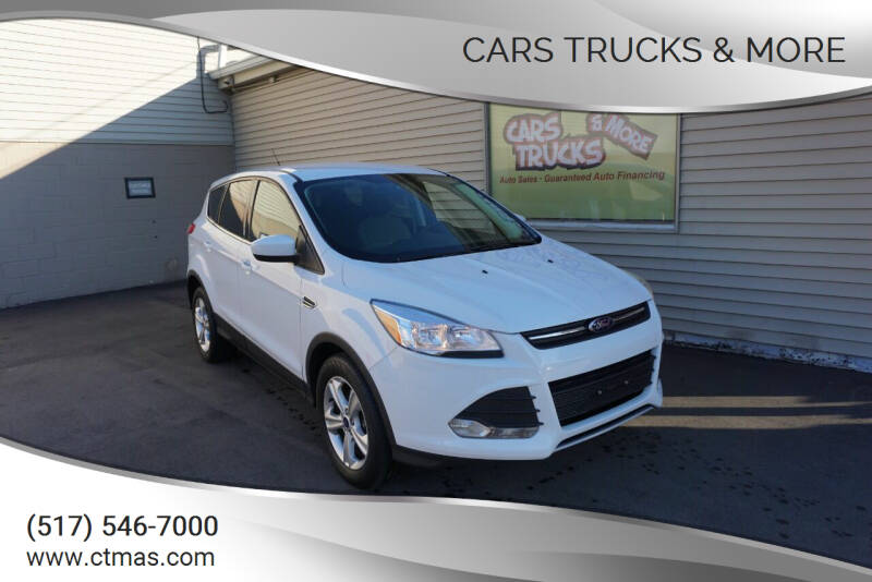2013 Ford Escape for sale at Cars Trucks & More in Howell MI
