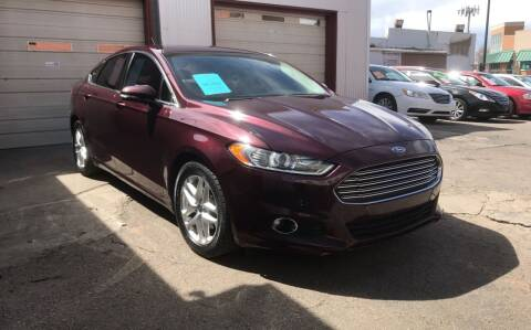 2013 Ford Fusion for sale at Sanaa Auto Sales LLC in Denver CO