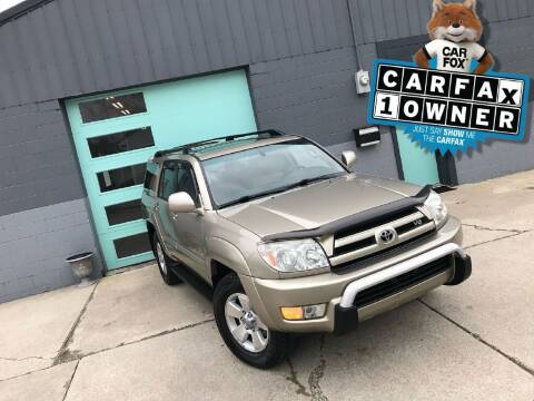 2005 Toyota 4Runner for sale at Enthusiast Autohaus in Sheridan IN