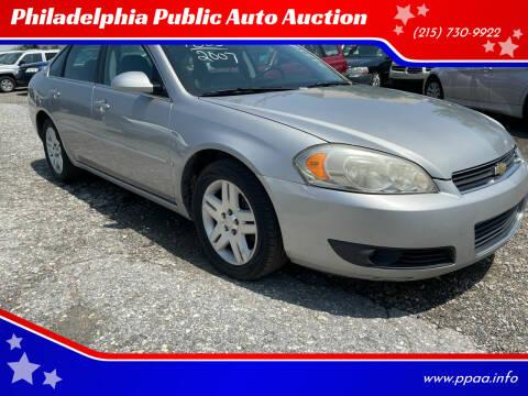 2007 Chevrolet Impala for sale at Philadelphia Public Auto Auction in Philadelphia PA