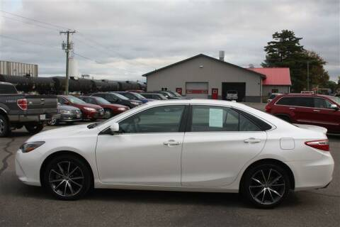 2015 Toyota Camry for sale at SCHMITZ MOTOR CO INC in Perham MN